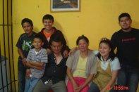 My host family - I always stay with them whenever I'm in Quetalztenango (Xela).