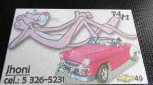 Call Jhoni for a car tour of Havana