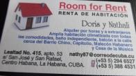 Casa Doris y Nathali in Centro Havana