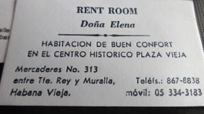 Casa Dona elena in Havana Vieja