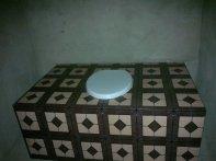 Pit toilet_Burkina Faso