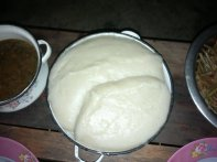 To (traditional food in Burkina Faso)