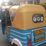 The pimped out TukTuk :)