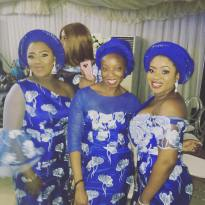 The head tie is called the Gele